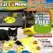 HH-豪华版猫盘 逗猫玩具 宠物娱乐 宠物玩具