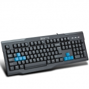 森松尼S-K3U(原213U)网吧游戏键盘 USB 防水台式笔记本 键盘 防水耐用 黑色 USB
