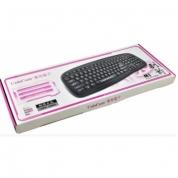紫光键盘M1(升级版) 黑色 USB 性价比最高的键盘 USB接口