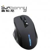森松尼 M3 鼠标USB 黑色 USB
