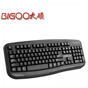 大硕DK765键盘PS/2 家用游戏办公耐用键盘