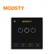 摩登时代 MD8603【三键 - 黑色】智能开关