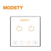 摩登时代 标智系列 MD8602【二键 - 白色】智能开关
