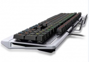 森松尼S-J7超时空战士电竞机械键盘( 枪色 白色 ) 青轴 USB