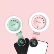 手机镜头 Funipica F508 圆形补光灯HD花瓣广角+微距