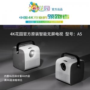 4K花园 A5 智能投影仪 无屏电视