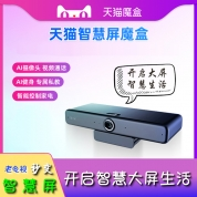 天猫智慧屏魔盒TM22A  2+16 双频 支持 4K  体感 手势 视频通话老电视秒变智慧屏电视机